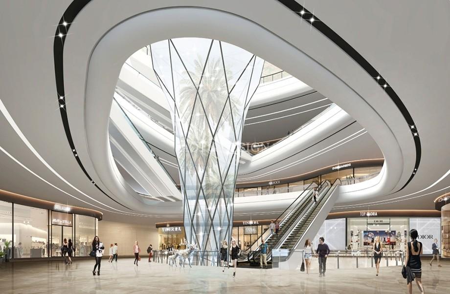 红土创新广场商业综合体设计
