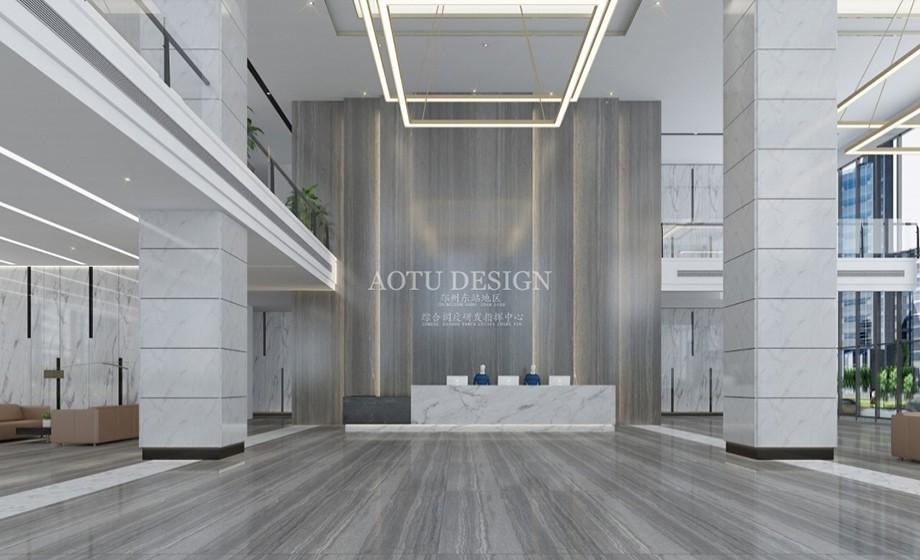 大厅设计-郑州东站调度中心设计方案