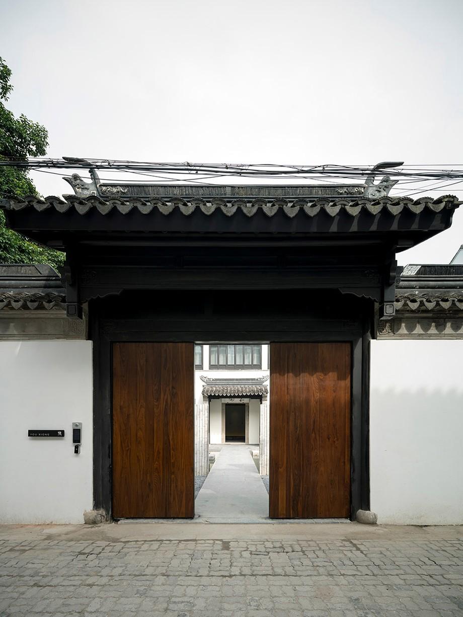 苏州有熊文旅公寓正门设计