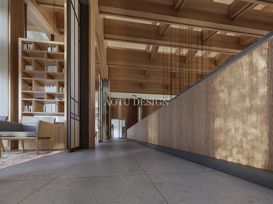 洽谈区设计-沙盘展示区设计-开封佘店旅游区接待中心设计效果图-凹凸设计