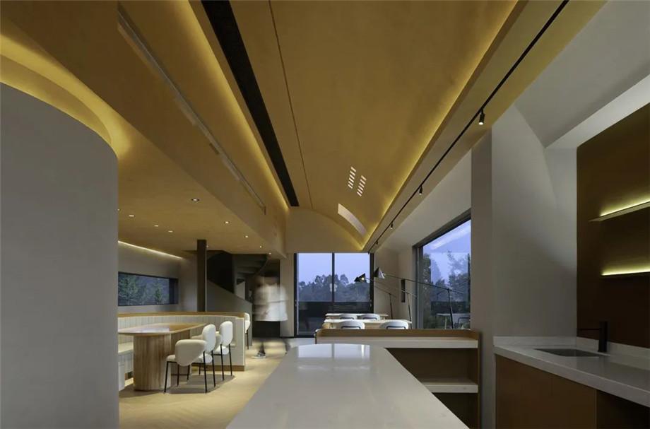 民宿餐厅设计-传统又现代的椒兰山房高端民宿设计案例