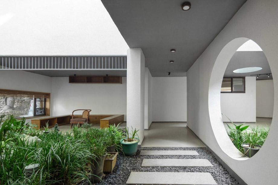 让建筑成为配角  湖南兰舍民宿改造设计案例