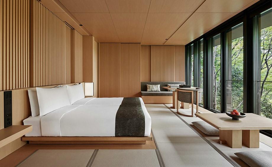 致敬日式旅馆  京都安缦度假酒店设计赏析