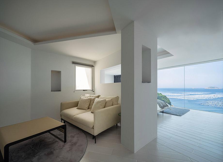 小面积大体验  归去来海景民宿设计案例
