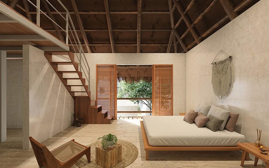 侘寂风与摩洛哥美学融合的Hormiga民宿设计